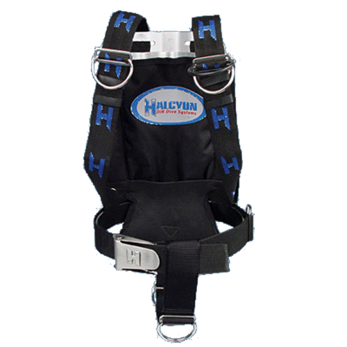 Backplate Harness Pack Halcyon BC Diving System Components