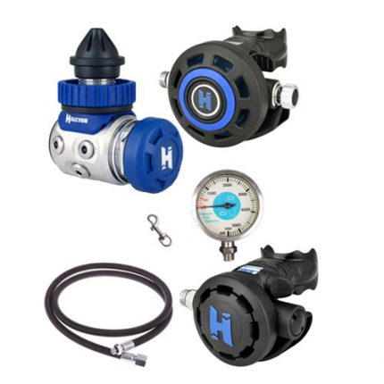 DIR Single tank configuration regulator pack