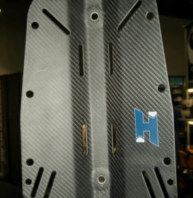 Normal carbon backplate