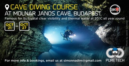 Cave Diving course in Budapest